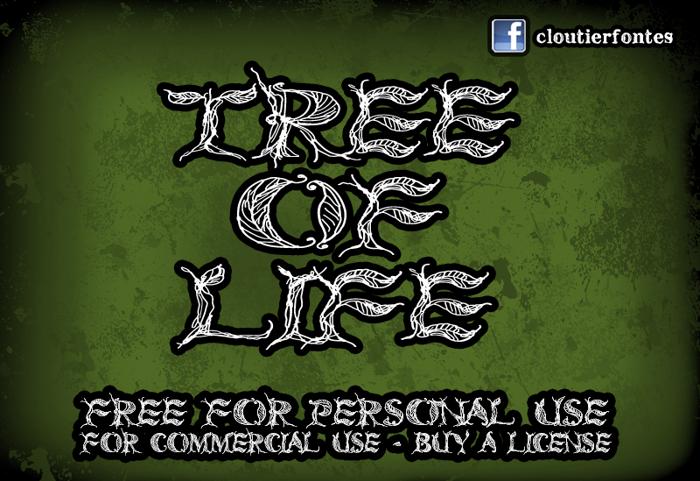 CF Tree of Life Font