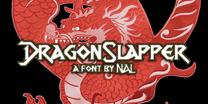 DragonSlapper Font