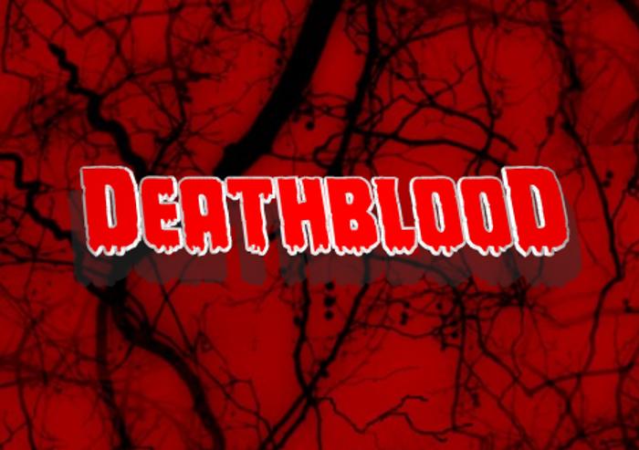 Deathblood Font poster