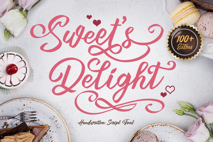 Sweets Delight Font poster