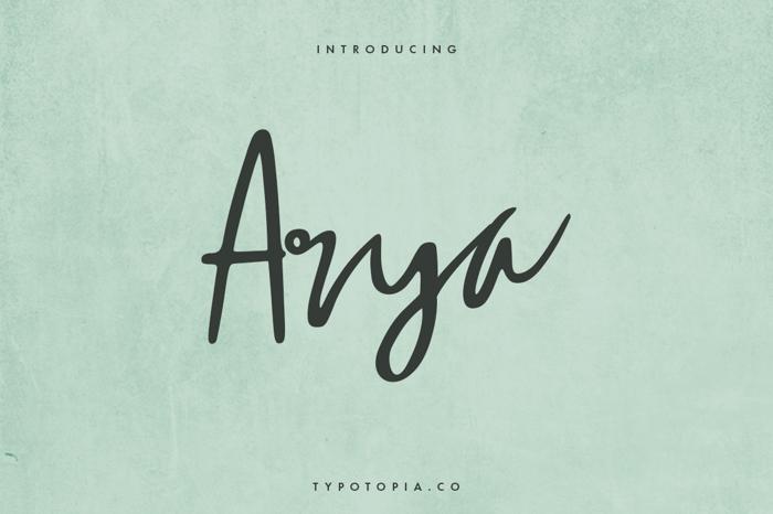 Arya Font
