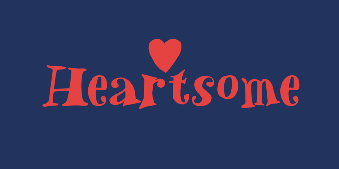 Heartsome Font poster
