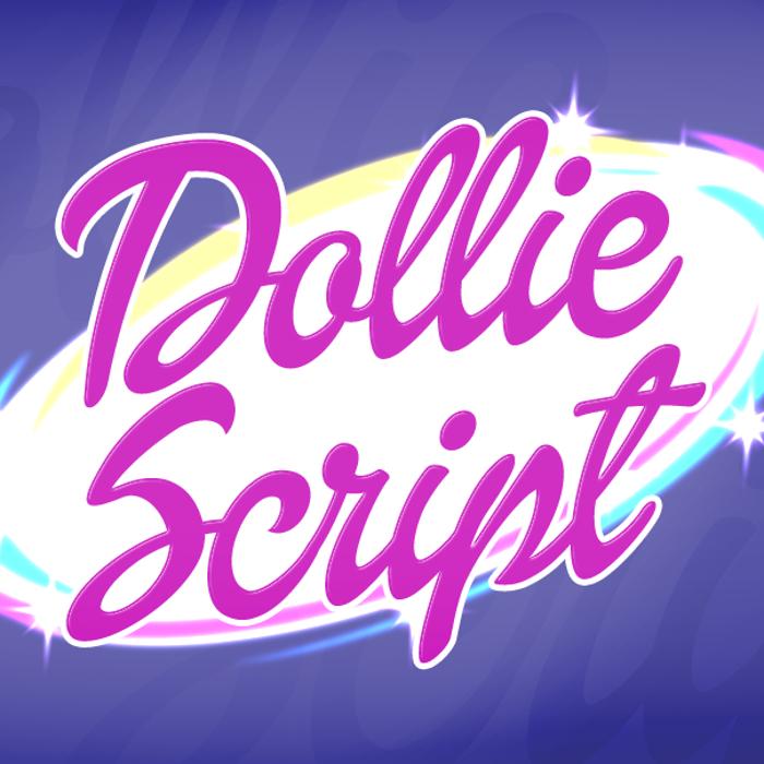 Dollie Script Font poster