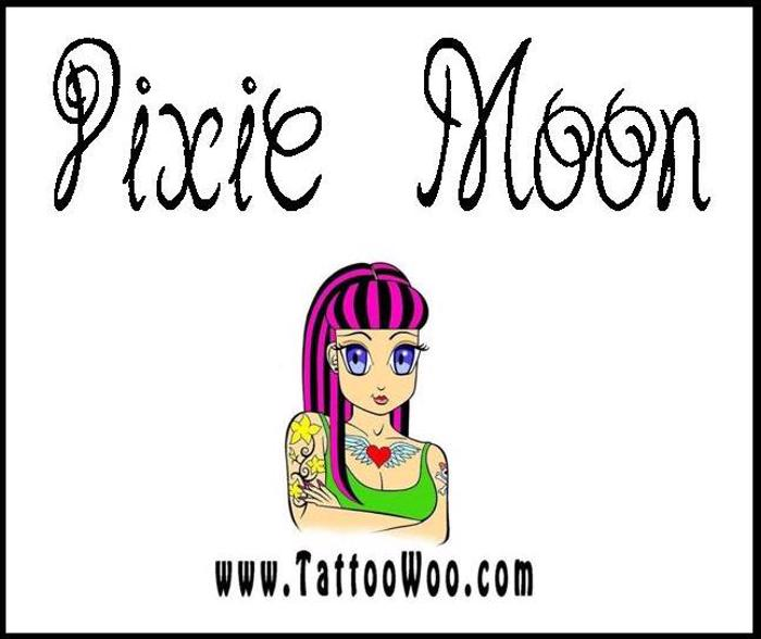 Pixie Moon Font poster