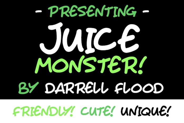 Juice Monster Font