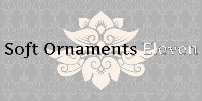 Soft Ornaments Eleven poster