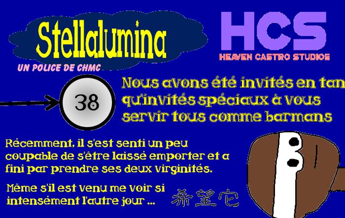Stellalumina Font poster