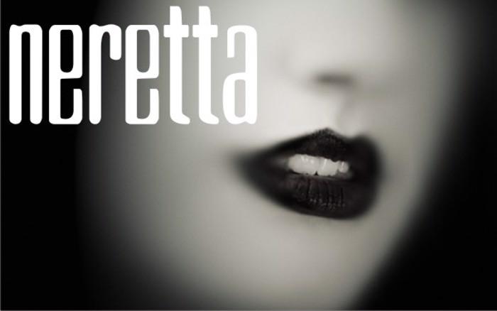 Neretta Font poster