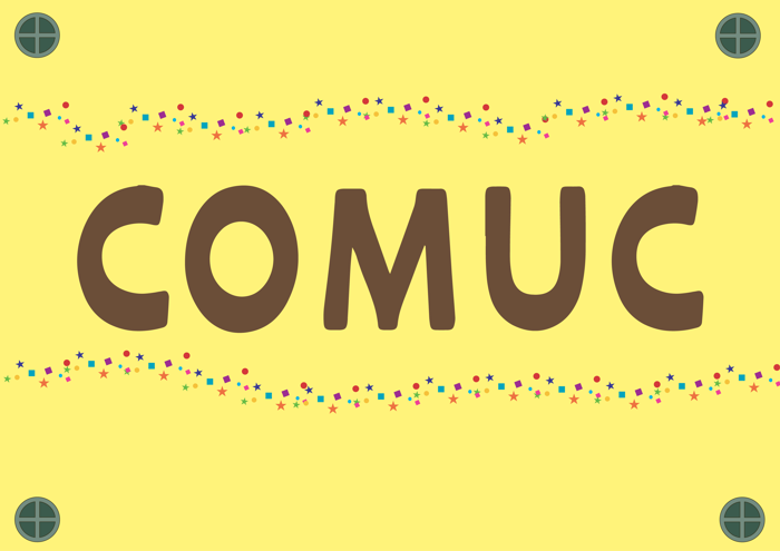 Comuc Font poster