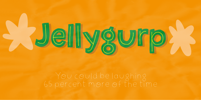 Jellygurp DEMO Font poster