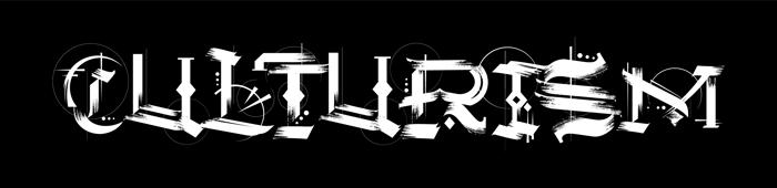 Culturism Font poster