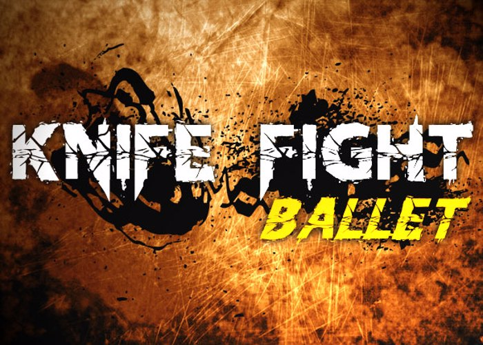 Knife Fight Ballet Font poster