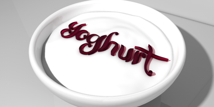 Yoghurt Font poster