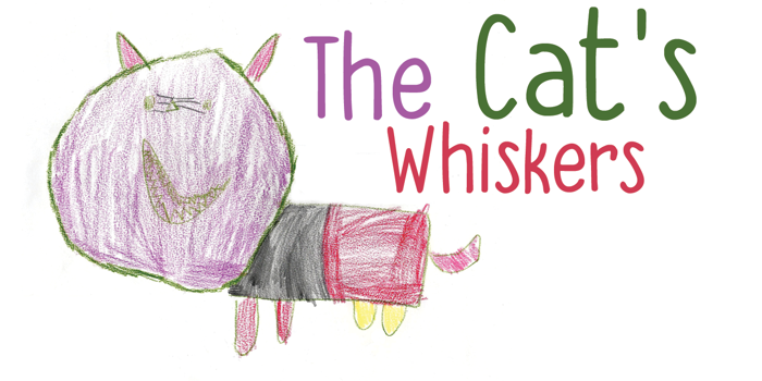 DK The Cats Whiskers Font poster