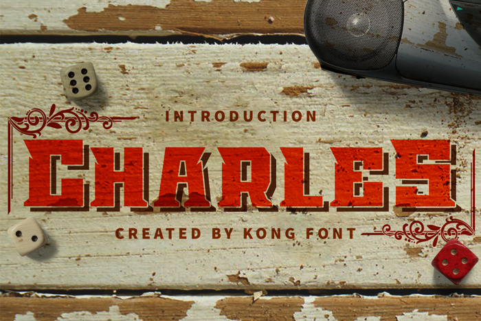 Charles Font poster