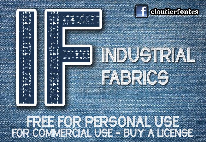 CF Industrial Fabrics Font
