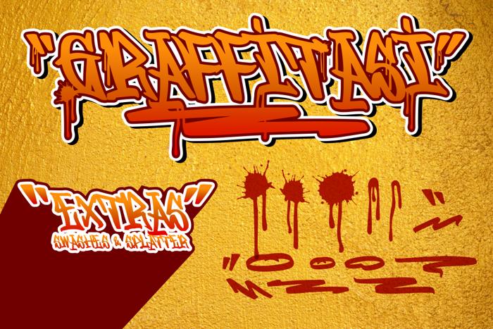 Graffitasi Font poster