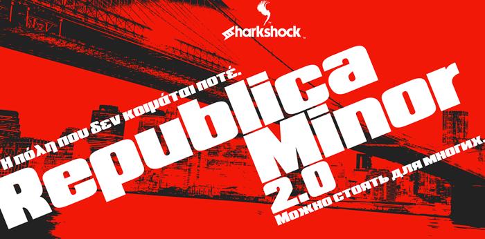 Republica Minor 2.0 Font poster