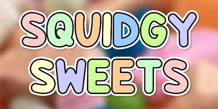 Squidgy Sweets Font poster