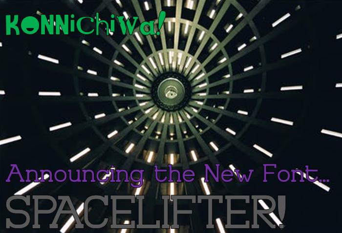 Spacelifter Font poster