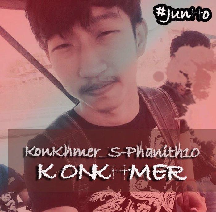 KonKhmer_S-Phanith10 Font poster