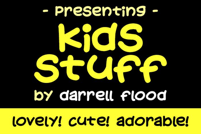 Kids Stuff Font