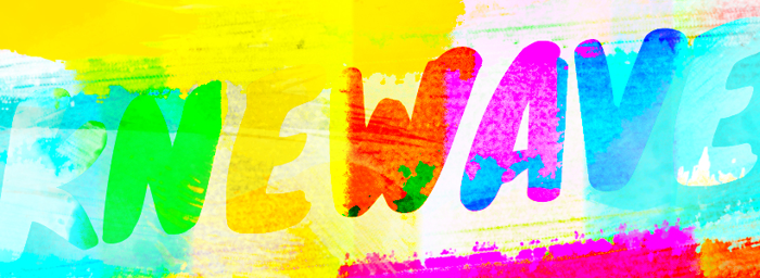 Knewave Font poster