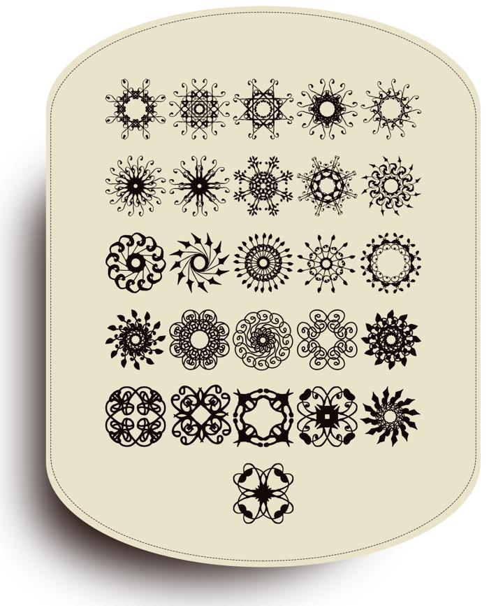 Rosette110621 Font poster