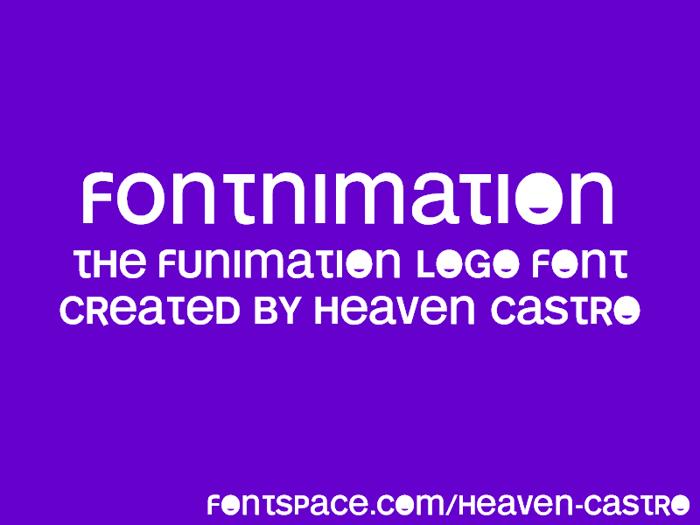 FONTnimation Font poster
