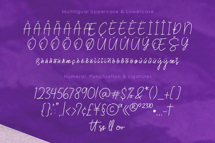Palmeyra Font poster