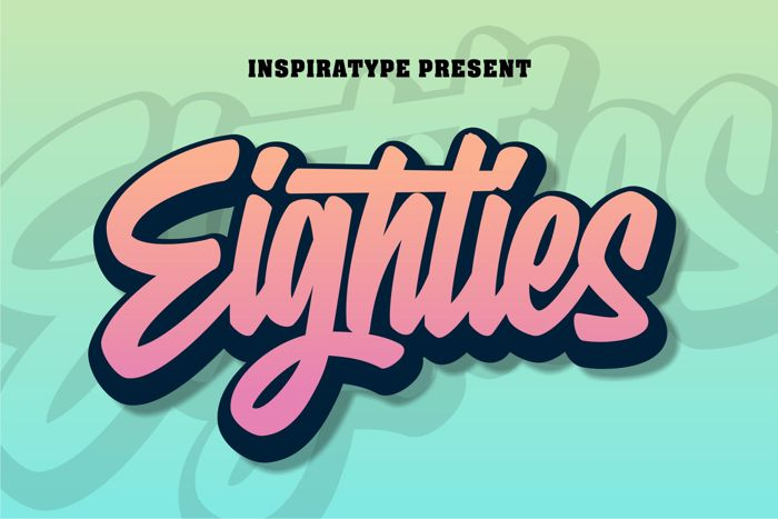 Eighties Font