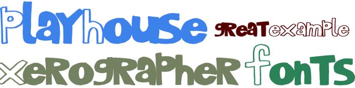PlayHouse Font poster