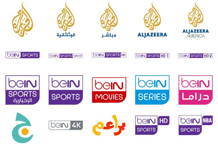 logos bein aljazeera Font poster