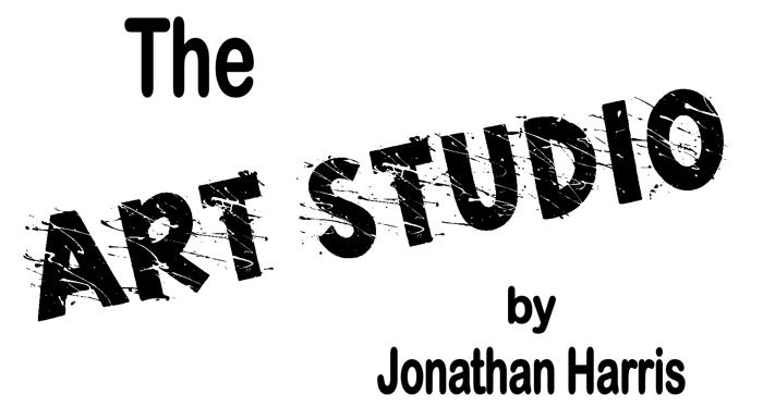 Art Studio Font poster
