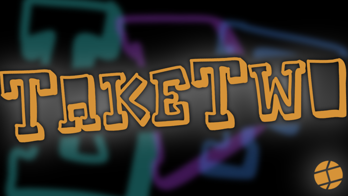 TakeTwo Font poster