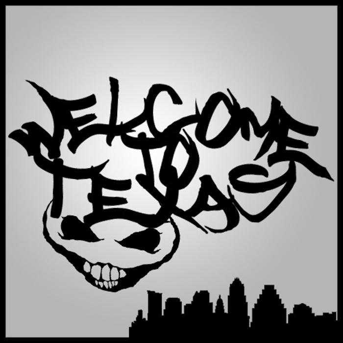 Welcome to Texas Font poster