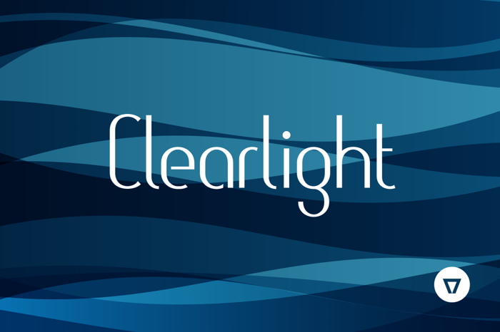 Clearlight Font poster