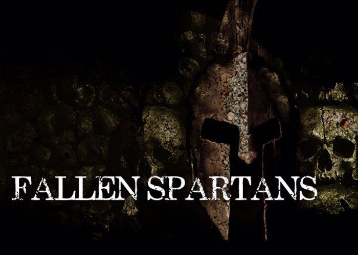 Fallen Spartans Font poster
