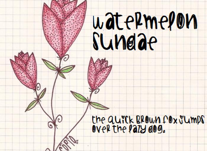 WatermelonSundae poster