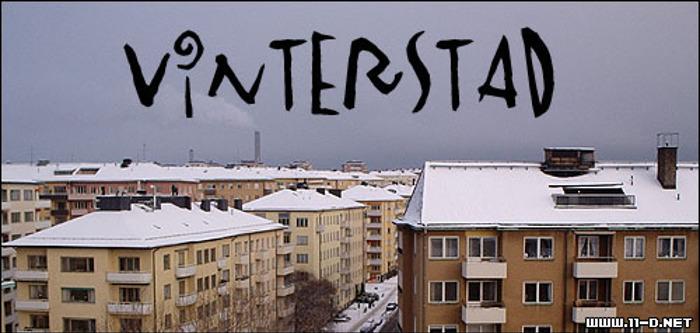 Vinterstad Font poster