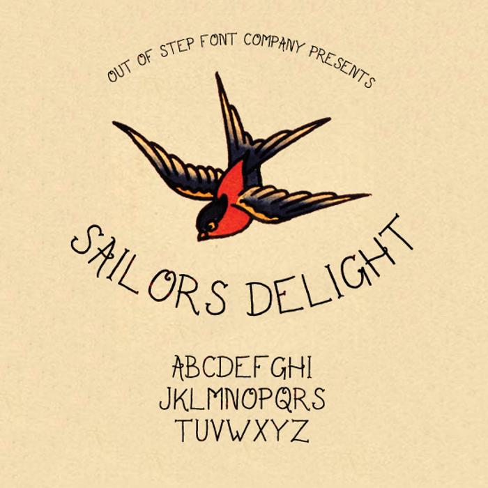 Sailor's Delight Font