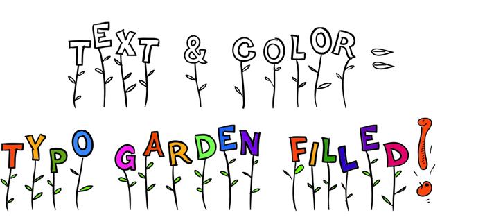 Typo Garden Demo Font poster