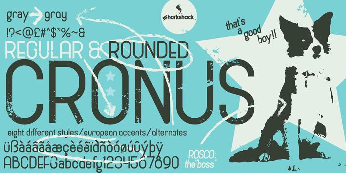 Cronus Font