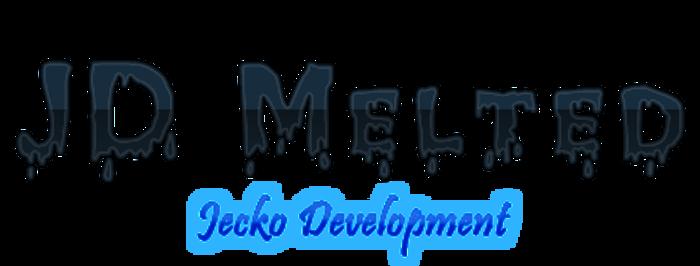 JD Melted Font poster