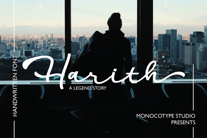 Harith Font poster