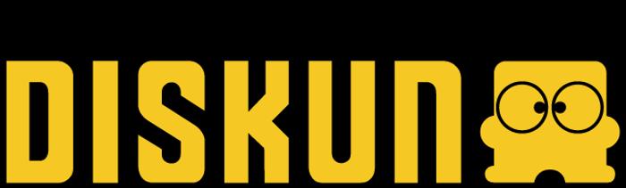 Diskun Font poster