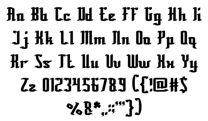 Billionaire Font poster
