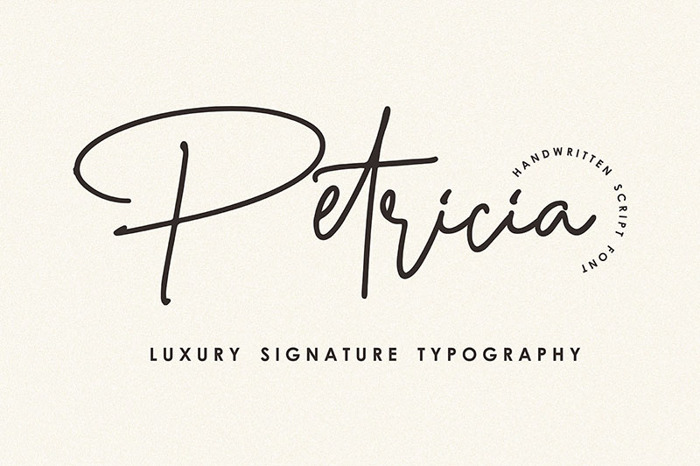 Petricia Font poster