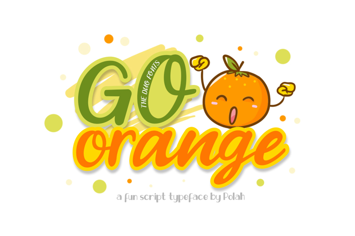 Go Orange Font