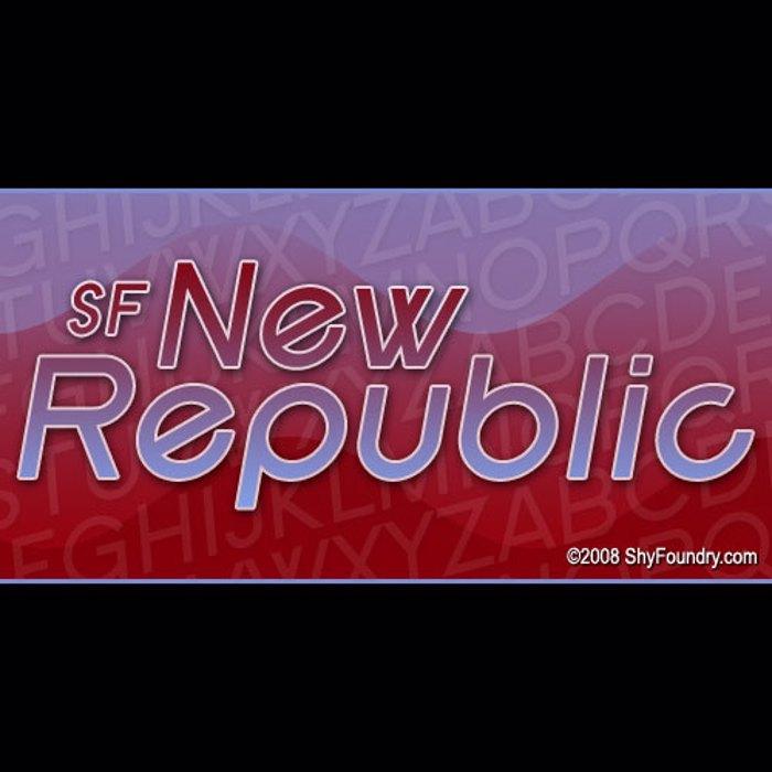 SF New Republic Font poster